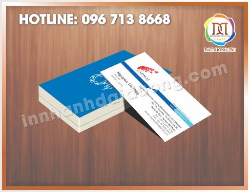 Xưởng in name card tại Hà Nội