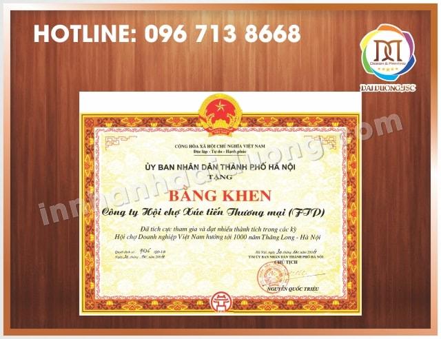 In Bang Khen Giay Khen Gia Re Nhat Ha Noi