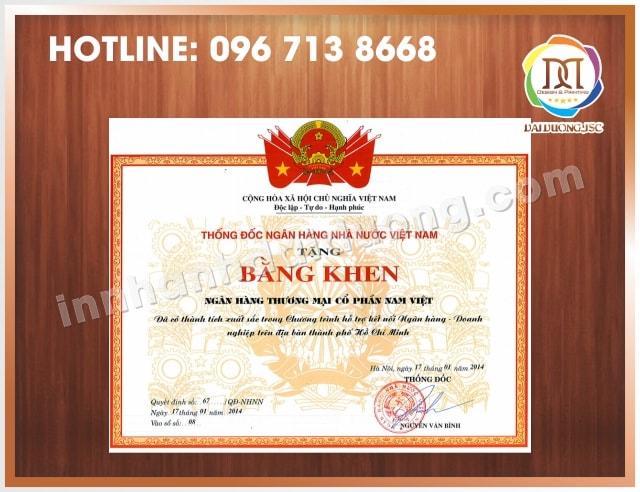 In Bang Khen Giay Khen Lay Ngay 2