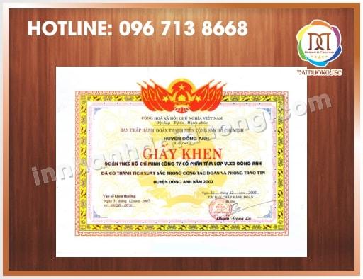 In Bang Khen Giay Khen Lay Ngay 3