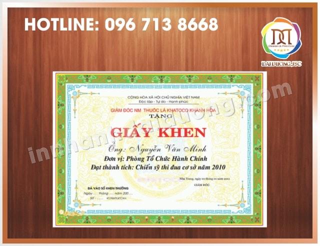 In Bang Khen Giay Khen Lay Ngay Tai Ha Noi 3