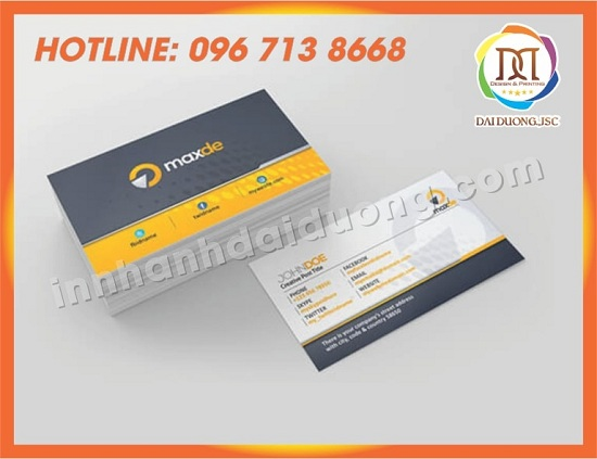 In Card Visit Gia Re Tai Nghe An 3