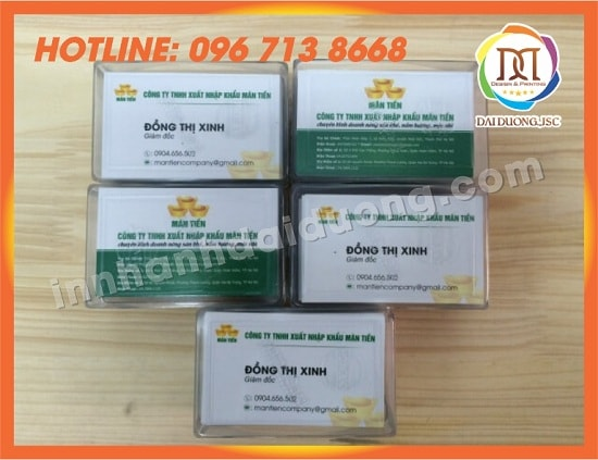 In Card Visit Tai Hai Phong 2
