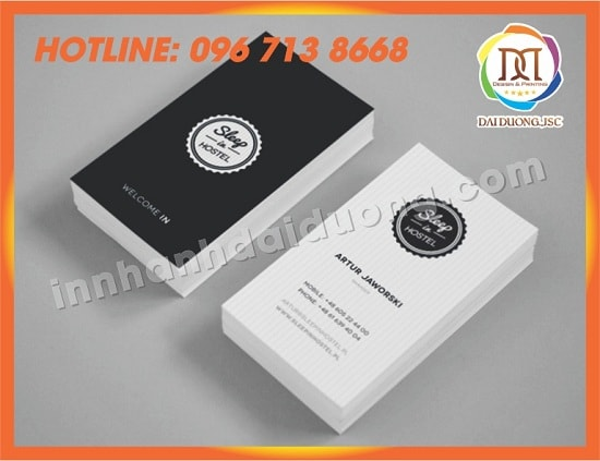 In Card Visit Tai Nghe An