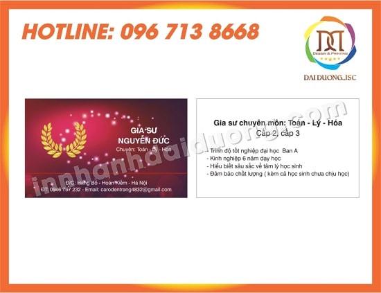 In Card Visit Tai Phu Tho 2