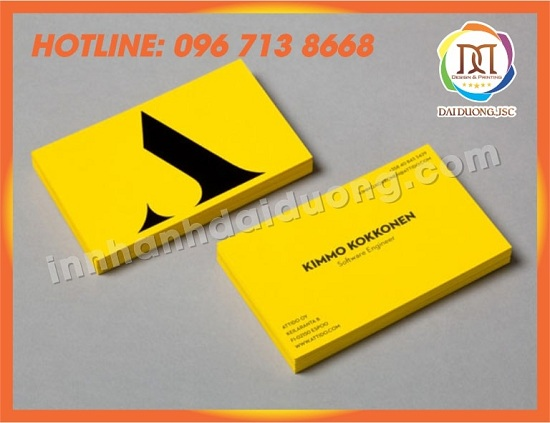 In Card Visit Tai Thai Binh 1
