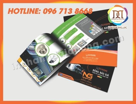 In Catalogue Gia Re Tai Thanh Hoa