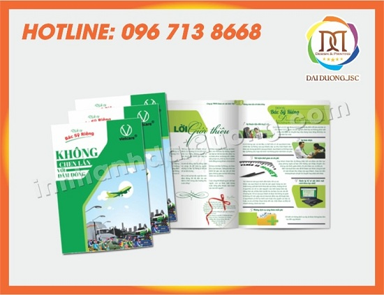 In Catalogue Số Lượng Ít Tại Hà Nội