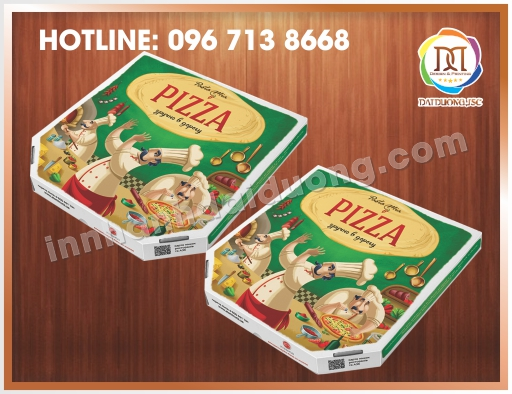 In Hộp Pizza Lấy Ngay Tại Hà Nội