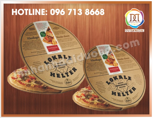In Hộp Pizza Lấy Ngay