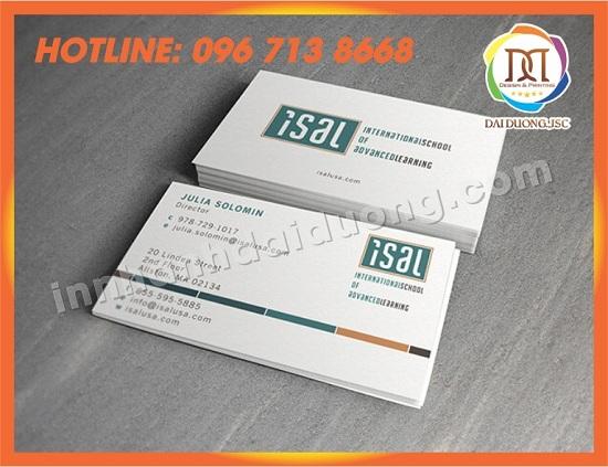 In Name Card Gia Re Tai Hai Phong 1