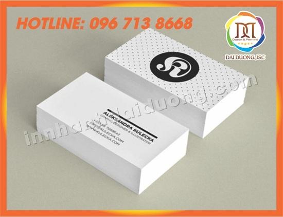 In Name Card Gia Re Tai Hai Phong 3