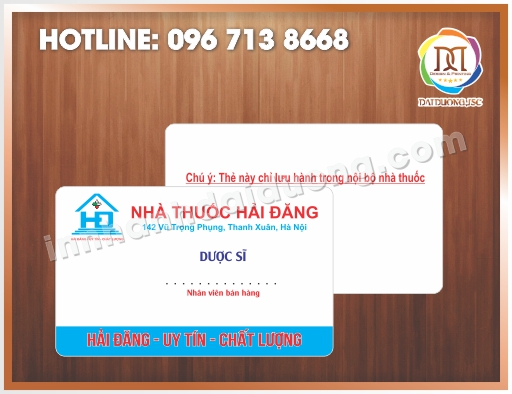In The Nhan Vien Ban Hang