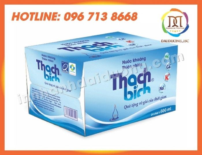 In Thùng Carton Giá Rẻ Tại Hà Nội